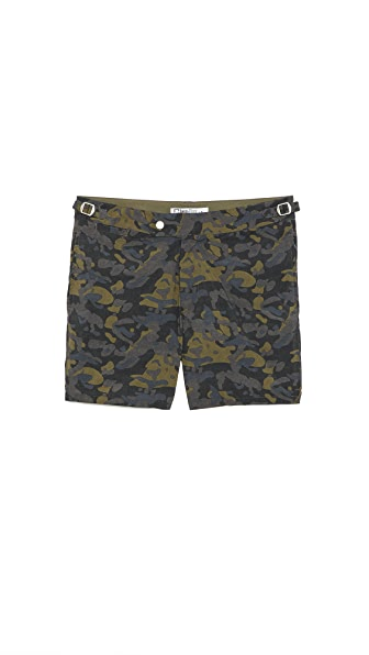 Swim-Ology Camo Swim Trunks