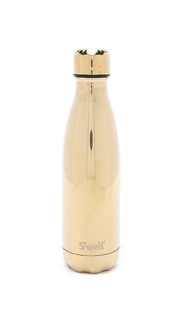 S'well Metallic Yellow Gold 17oz Water Bottle