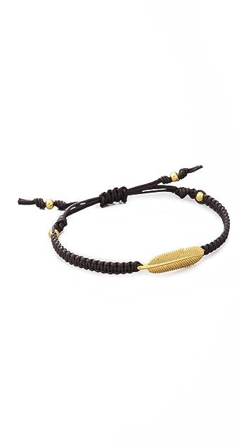 Tai Feather Charm Bracelet