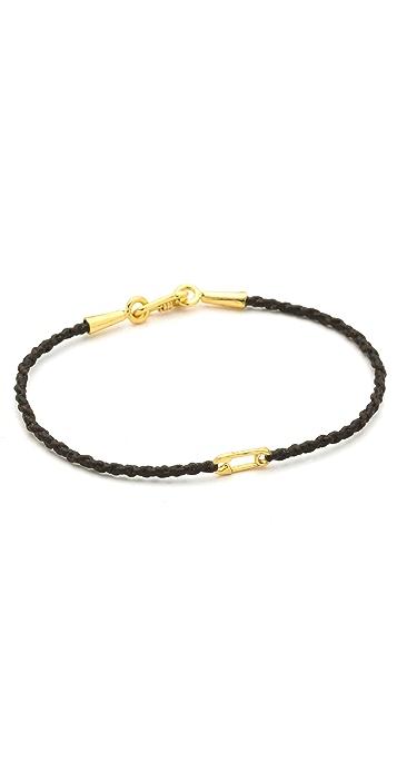 Tai Safety Pin Charm Bracelet