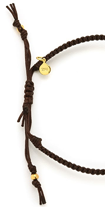 Tai Peace Sign Charm Bracelet