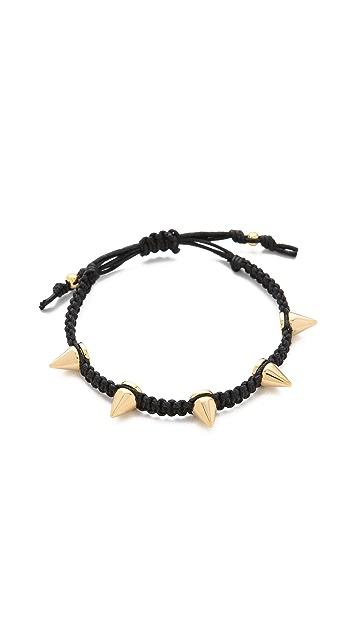 Tai Studded Woven Bracelet