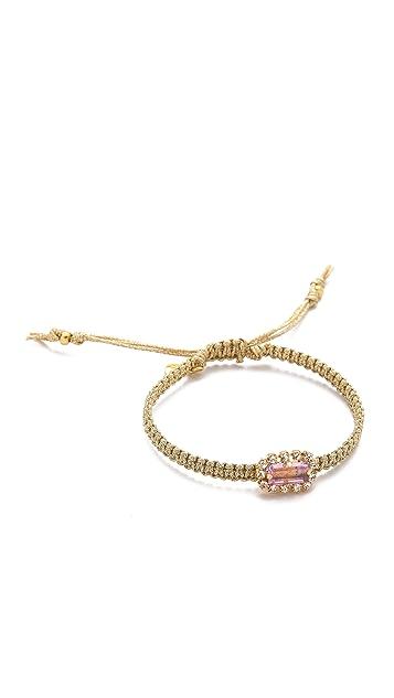 Tai Metallic Stone Bracelet