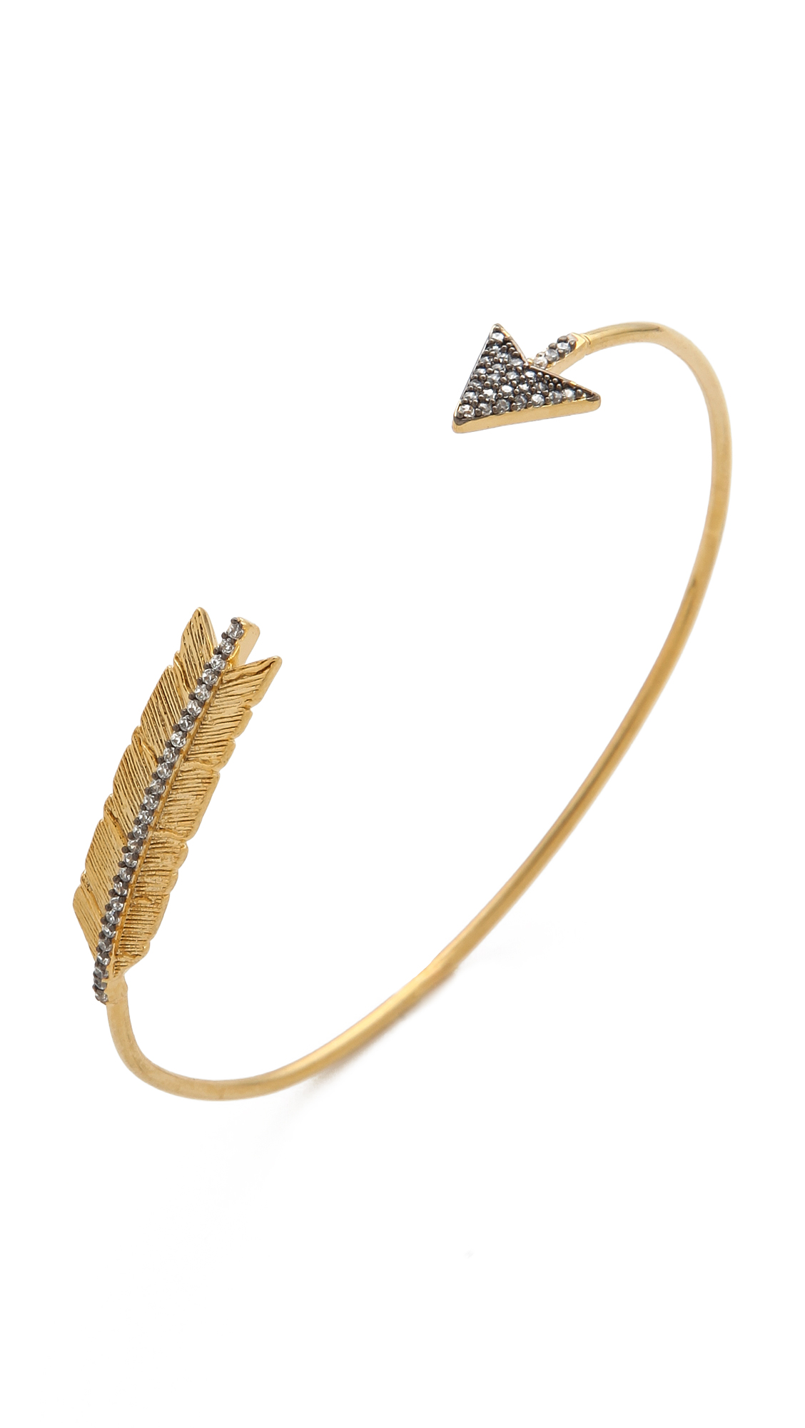 diamonds kura white br browndiamonds ml bracelet with gold in arrow rose products rg jewellery brown