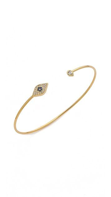 Tai Evil Eye Open Bangle Bracelet