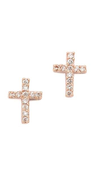 Tai Cross Earrings