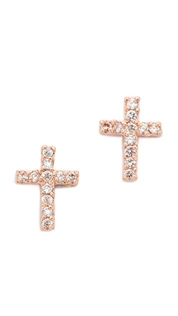 Tai Cross Earrings