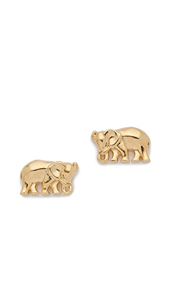 Tai Mini Elephant Earrings