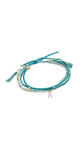 Tai Wishbone Bracelet Set