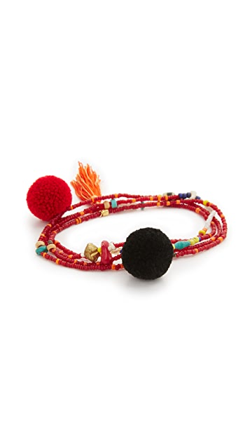 Tai Tassel Bracelet / Necklace