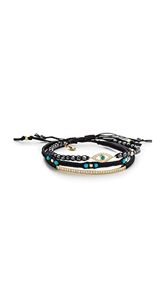 Tai Evil Eye Trio Bracelet
