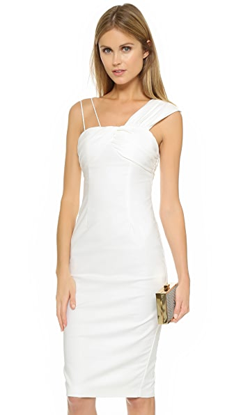 Talulah Elise Midi Dress In White