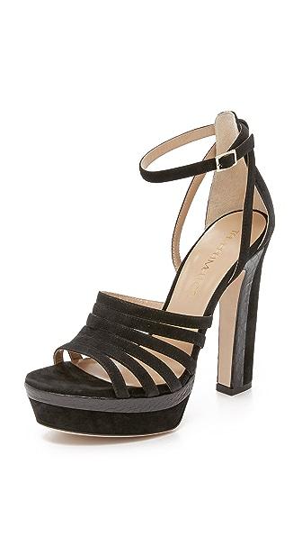 Tamara Mellon Supreme Platform Sandals