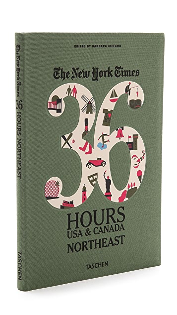 Taschen The New York Times 36 Hours Guide: USA & Canada Northeast