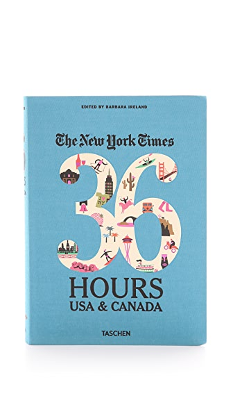 Taschen The New York Times 36 Hours: USA & Canada Second Edition