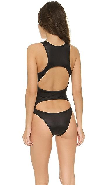Tavik Swimwear Iza High Neck Swimsuit