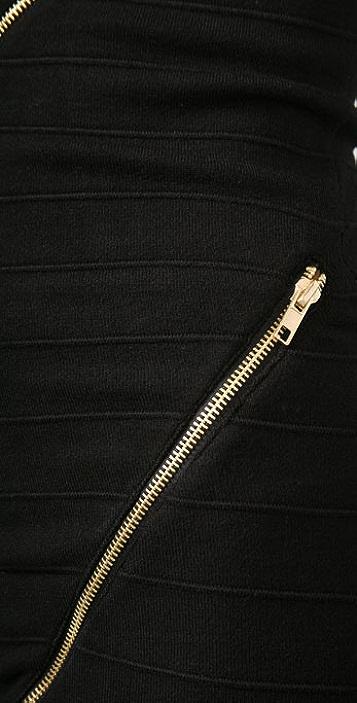 MISA Zipper Dress