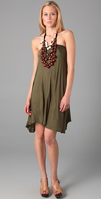 Tbags Los Angeles Necklace Dress
