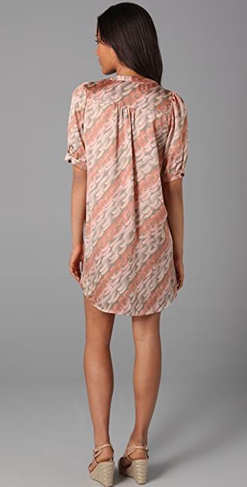 MISA Print Mini Dress