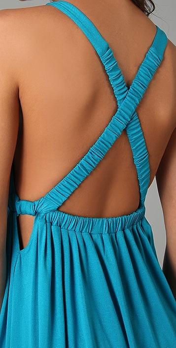MISA Strappy Mini Dress