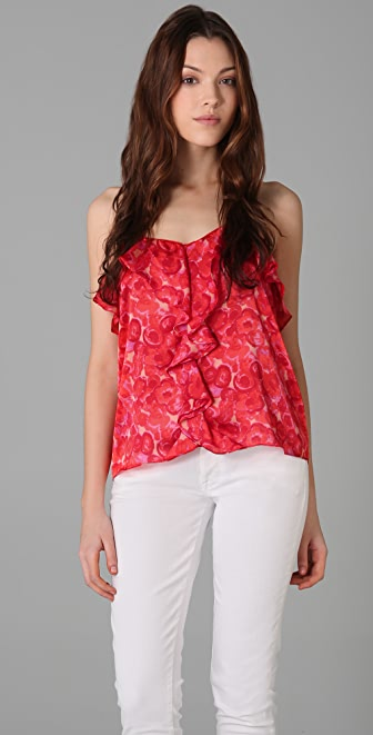 MISA Ruffled Top