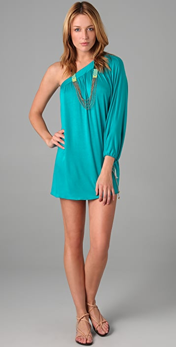 MISA One Shoulder Dress