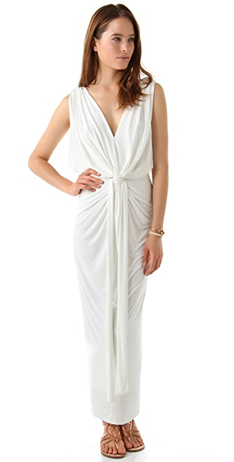 MISA Stretch Maxi Dress