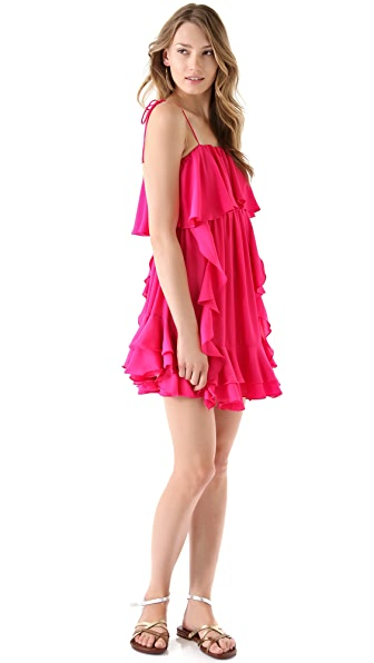Tbags Los Angeles Ruffle Dress