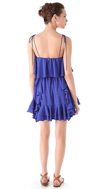 MISA Ruffle Dress