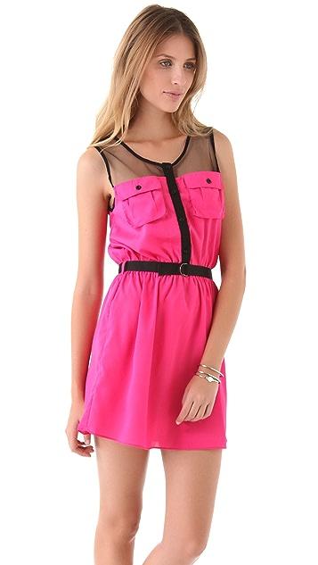 MISA Double Pocket Dress