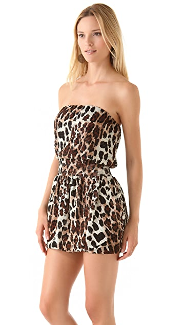 MISA Strapless Mini Dress