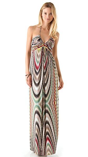 MISA Halter Maxi Dress  SHOPBOP
