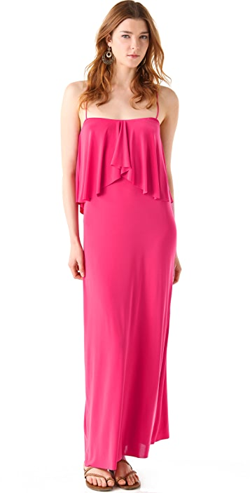 MISA Layered Maxi Dress