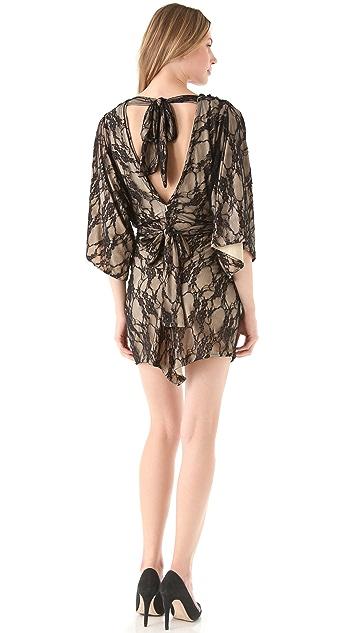 MISA Lace Tunic Dress