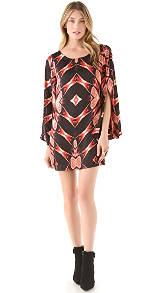MISA Split Sleeve Dress
