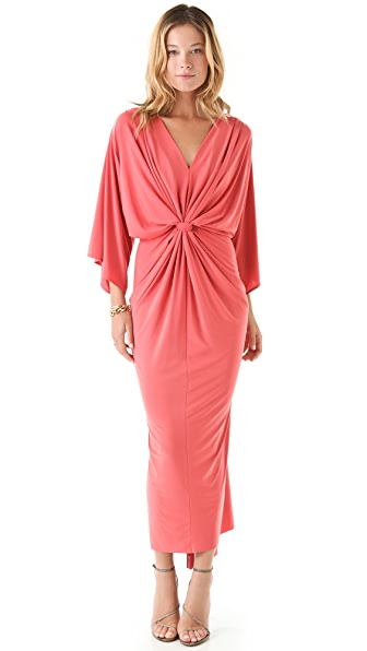 Tbags Los Angeles Maxi Dress with Sash