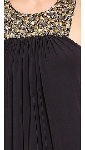 MISA Hi Lo Dress