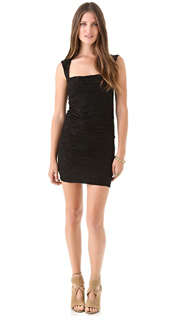 MISA Lace Bodycon Dress