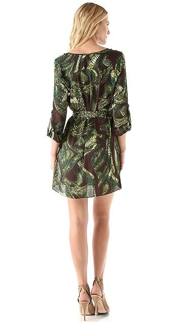 MISA Tie Waist Dress