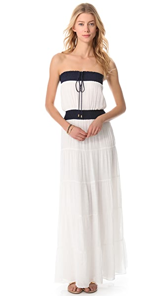 Tbags Los Angeles Strapless Maxi Dress