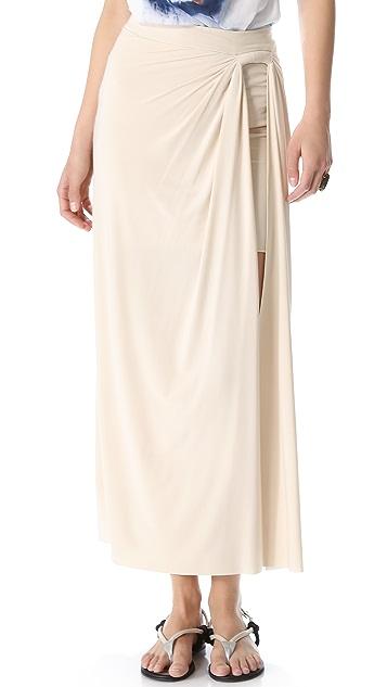 MISA Side Slit Skirt