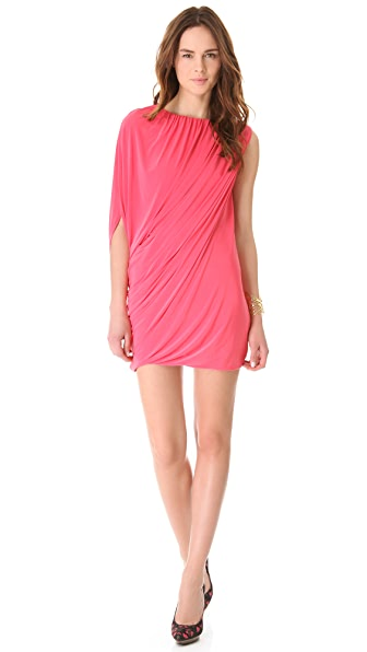 Tbags Los Angeles Asymmetrical Mini Dress
