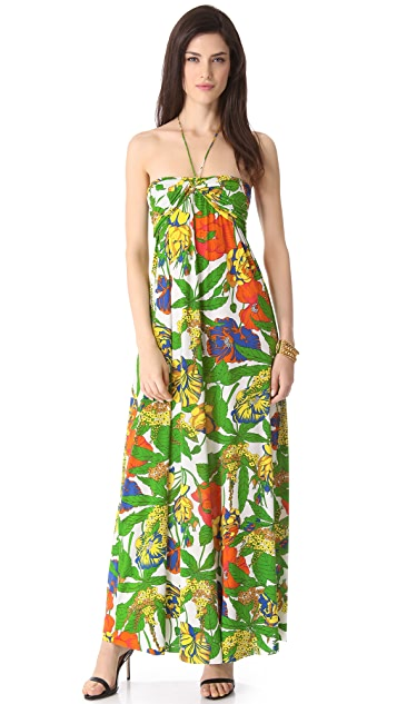 MISA Bright Maxi Dress