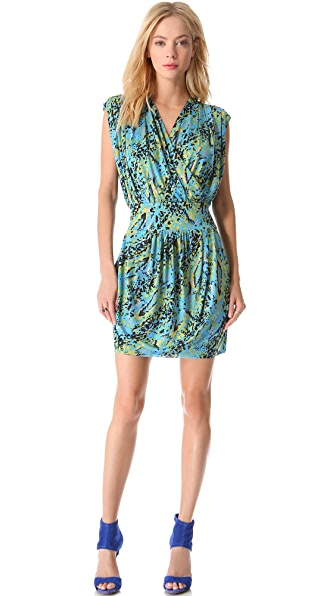 Tbags Los Angeles Cinched Waist Dress