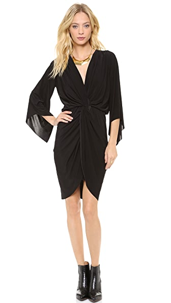 Tbags Los Angeles Petra Twist Front Dress