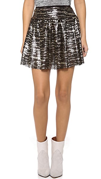 MISA Sequin Skirt