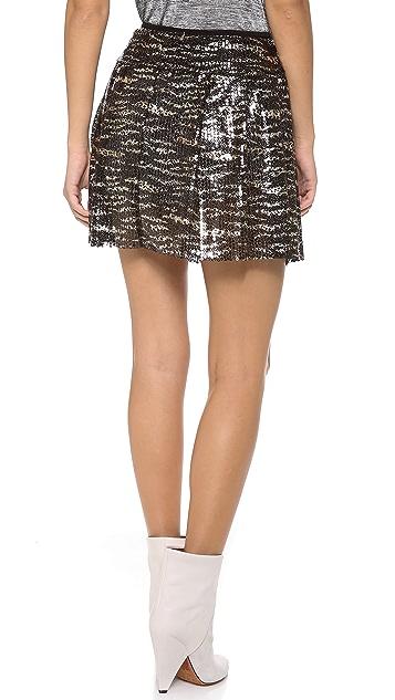 MISA Sequin Skirt