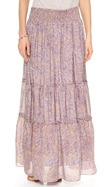 Tbags Los Angeles Maxi Skirt