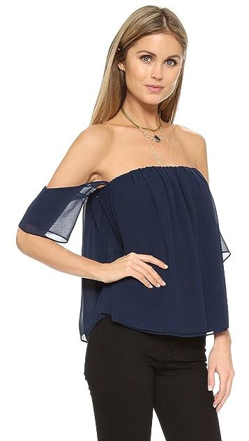 MISA Off the Shoulder Blouse