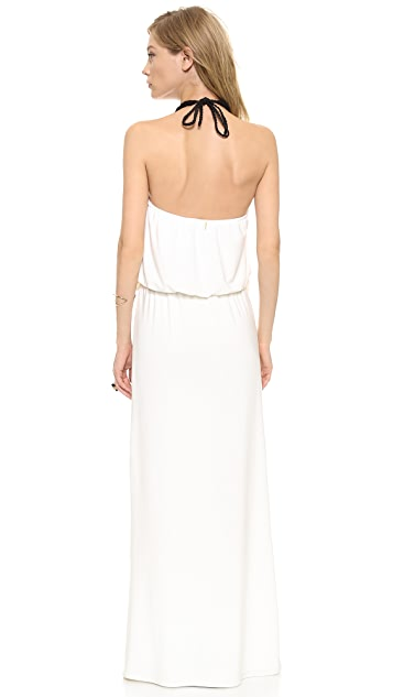 MISA Convertible Maxi Dress with Necklace